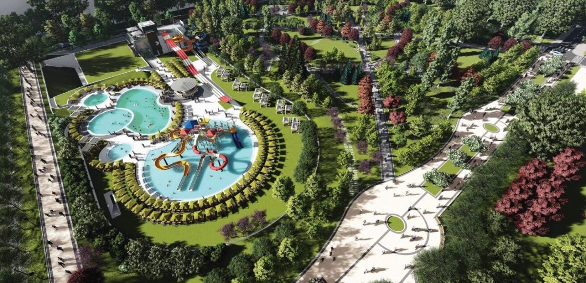 Large Aqua Park Opens In Bulgaria's Capital Sofia On July 27