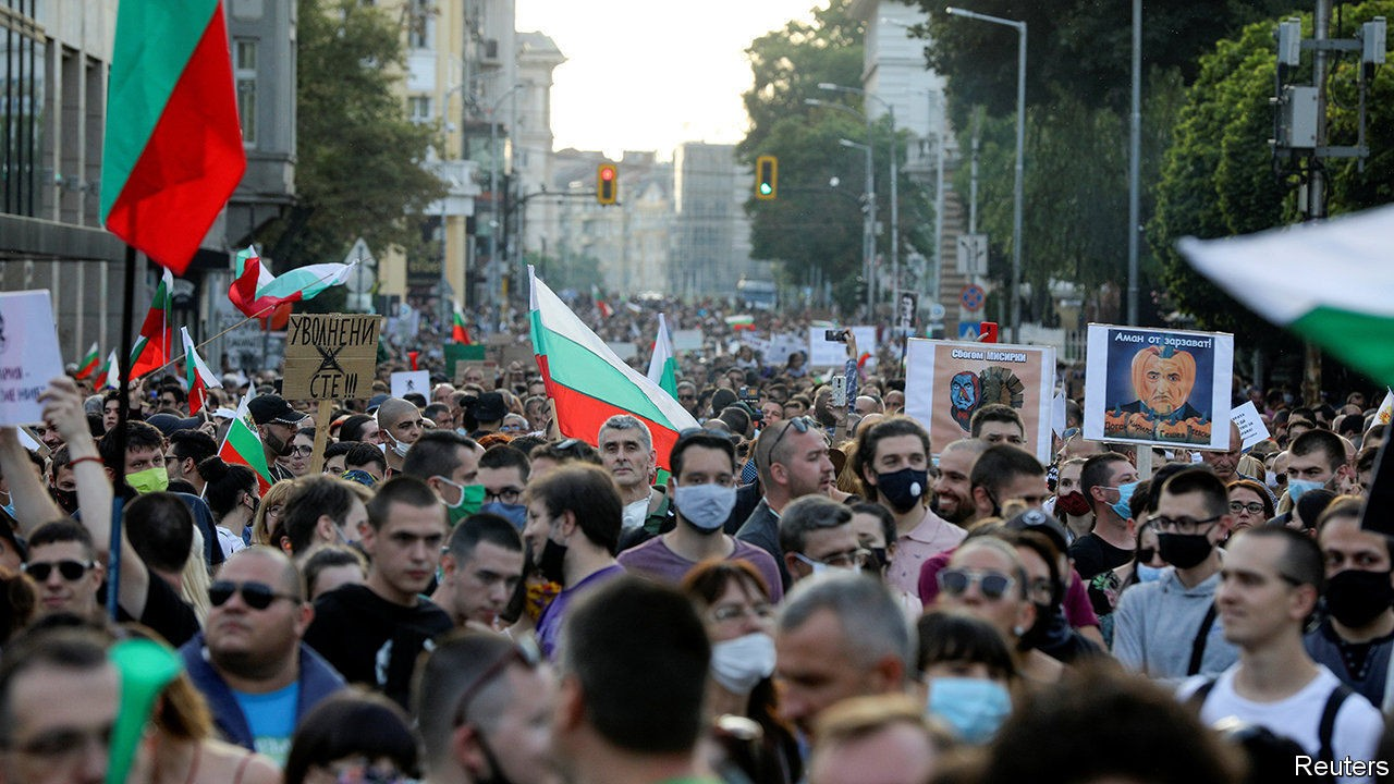 Protests In Bulgaria: Day 44 Of Anti-government Protest