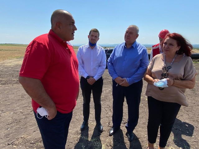 Bulgarian PM Borissov Inspected the Construction Of The Interconnector With Greece