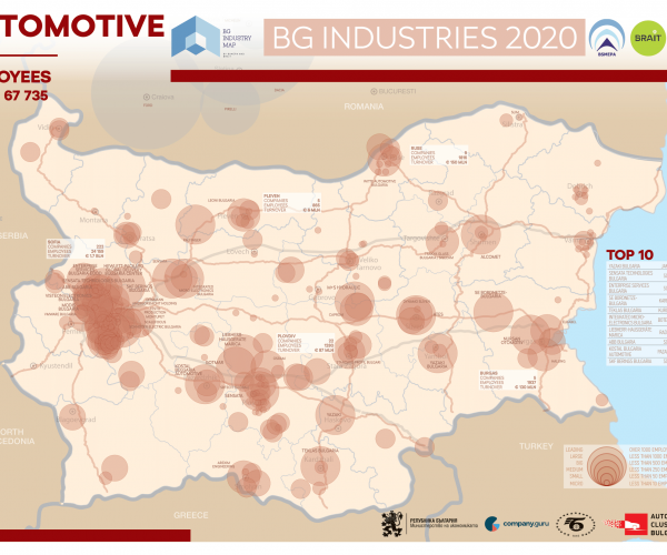 Ministry of Economy and BSMEPA Present the First Mapping of Bulgarian Industry