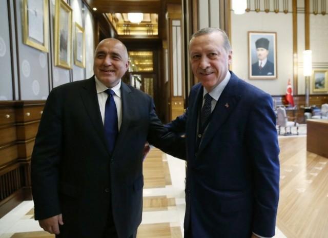 Bulgarian PM Boyko Borissov And Turkish President Recep Erdogan Speak Over Phone