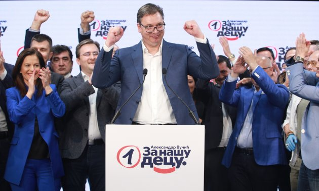 Serbia: President Vucic Declares Win In Controversial Parliamentary Vote