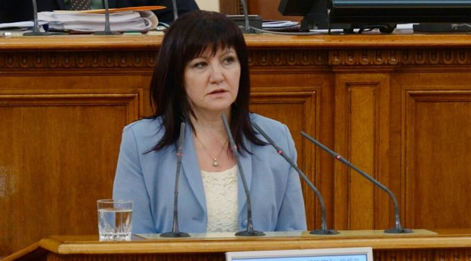 Bulgaria's National Assembly Debating The Request For Resignation Of Tsveta Karayancheva