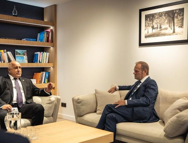 Donald Tusk To Bulgaria's PM Borissov: Democracy In Bulgaria Will Have Its Final Say In The Elections
