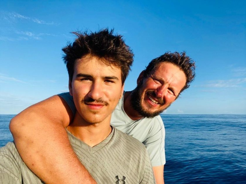 Bulgarian Father And Son Crossed The Atlantic Ocean In A Rowing Boat
