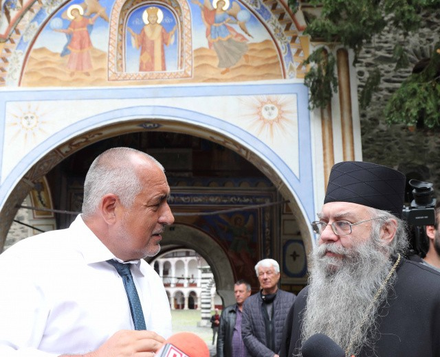 PM Boyko Borissov In Rila Monastery: We Have Done Everything We Promised