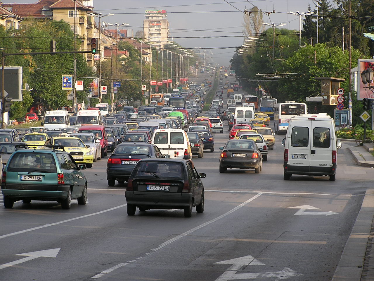 Sofia: Significantly Lower Levels of Nitrogen Dioxide Due to the Lower Traffic