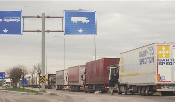 International Truck Drivers Protest On Bulgarian-Turkish Border