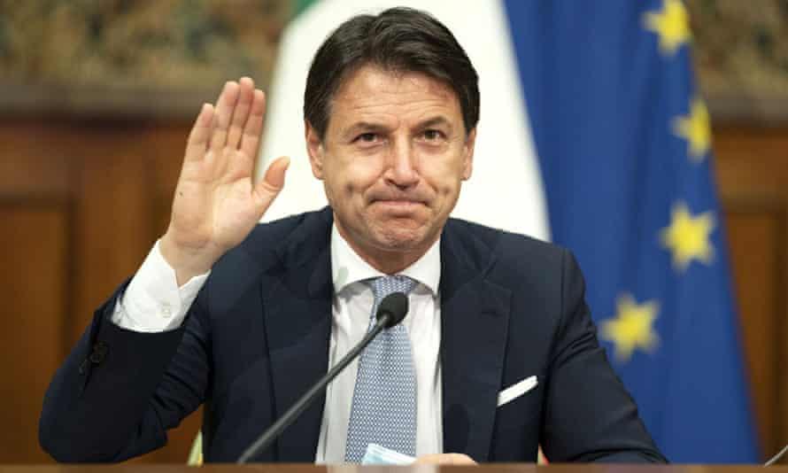 Italian Prime Minister Giuseppe Conte Officially Steps Down
