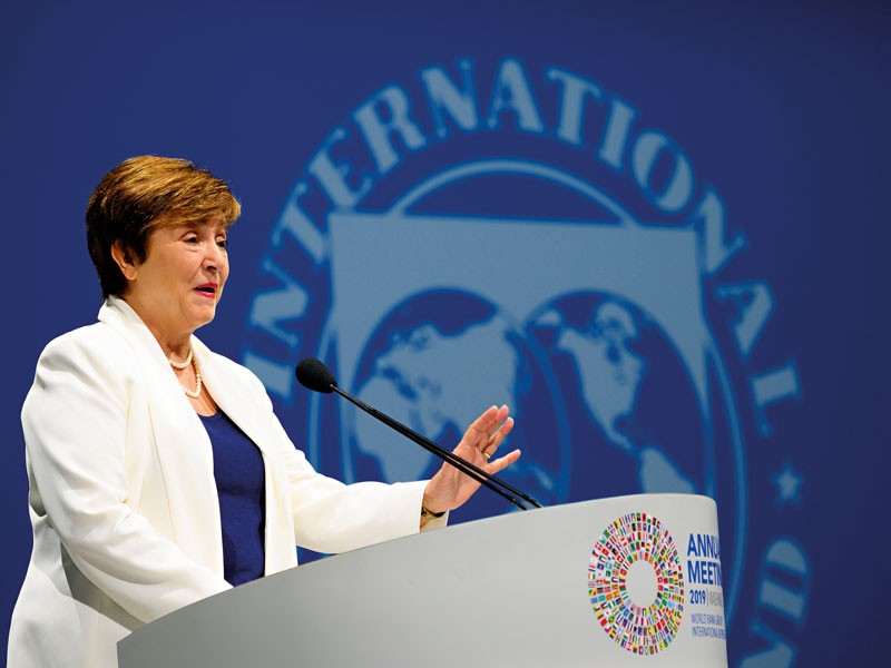 IMF Head Kristalina Georgieva: Forecasts For Global Economy Are Grim