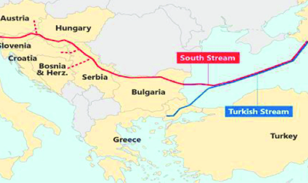 US State Department: Turkish Stream Undermines European Energy Security