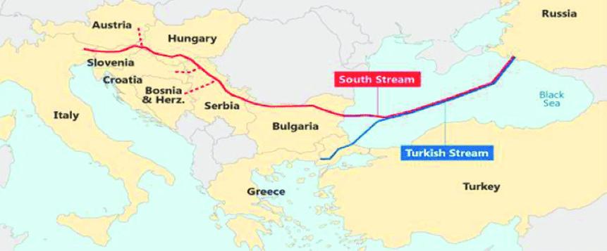 US State Department: Turkish Stream Undermines European Energy Security