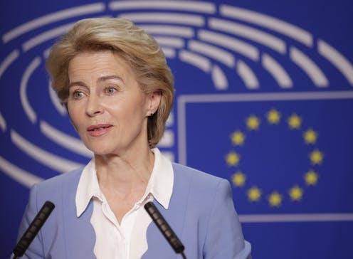 European Commission President Ursula von der Leyen Calls For 'Marshall Plan' For Europe