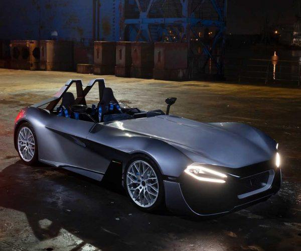 Bulgarian Kinetik 07 Presents The First Zero-Emission Sports Car