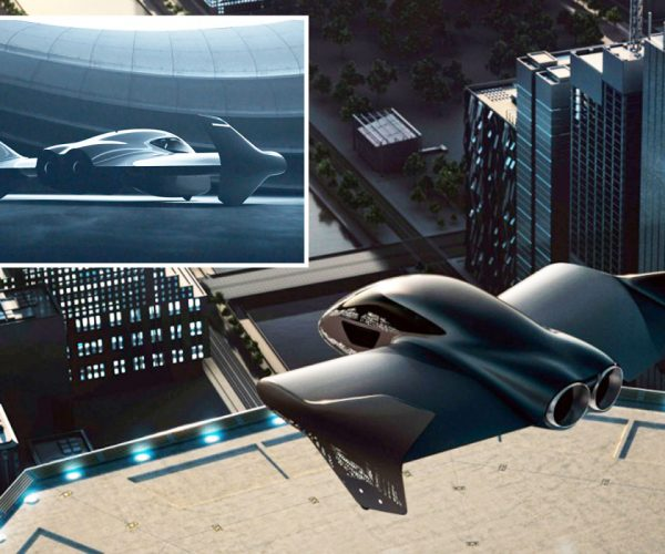 Porsche And Boeing With A Flying Car Prototype