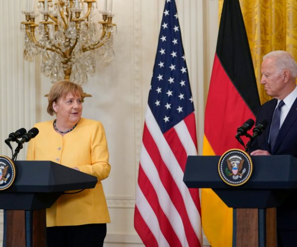 Merkel And Biden Agreed On Common Front Against Russian Aggression