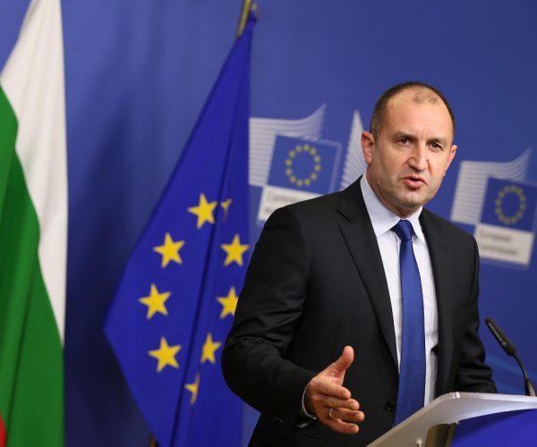 President Rumen Radev: EU To Step up Pressure On Bulgaria About North Macedonia